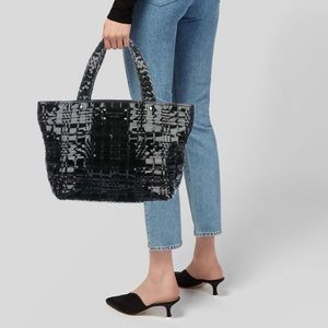 Kate Spade New York Woven Patent Leather Tote